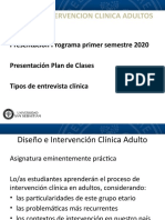 POWER POINT PRIMERA CLASE 2020