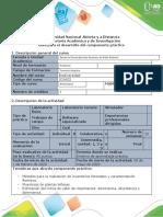 Guia para el Montaje del experimento Componente practico Fase 5