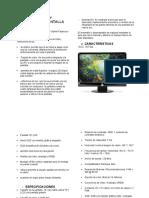 INFORME ENSAMBLE Y DESENSAMBLE DE PANTALLA LCD