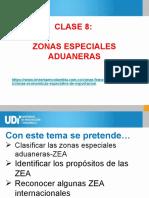 CLASE 8 -ZONAS ESPECIALES ADUANERAS-Zona franca_ZAL_ZAEEE.pptx
