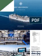 MSC Grandiosa Ship Brochure
