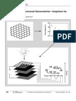 Thinnest Two‐Dimensional Nanomaterial—Graphene for Solar Energy
