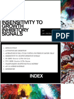 INSENSITIVITY TO GROWTH INHIBITORY SIGNALS