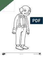 Ridichea uriasa - Pagini de colorat.pdf