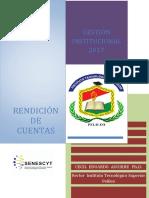 Informe de Rendición de Cuentas 2017