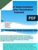 Asuhan keperawatan Komunitas Kesehatan Sekolah 1.pptx