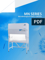 NUVE MN 090-120 Class II Microbiological Safety Cabinet Brochure