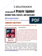 Prayer Against Invisible Walls