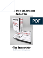 Brad Pilon - Eat Stop Eat - Transcript.pdf