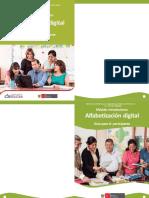 Módulo introductorio alfabetización digital. Guía para el participante
