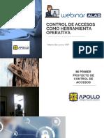 Control de accesos como herramienta operativa