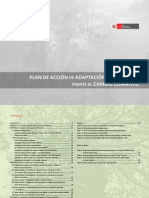 Plan de Acción de Adaptación y Mitigación frente al Cambio Climático - Publicación