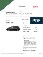 Avis Rental Car Bill_Sagar.pdf