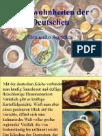 Essgewohnheiten der Deutschen