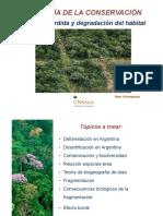 Modulo 3. Perdida y degradacion de habitat