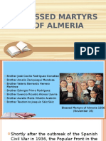 Blessed Martyrs of Almeria