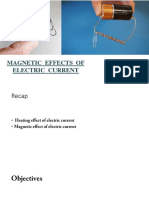 Magnetic Effect Part 1 Ppt
