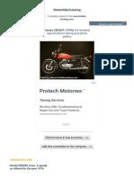 Specs 1976 Honda CB200T