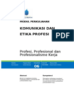 Hanna - Modul 6 -Profesionalisme Kerja