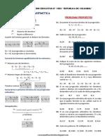 Teoria y Problemas Propuestos de Progresiones Aritmeticas PA34 Ccesa007