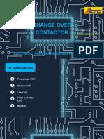 Change Over Contactor (COC) / Sesentuh Tukar Alih