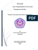 Denny_Gambaran Umum Risiko-risiko Pada Proyek Konstruksi