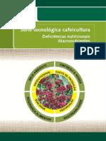 Cafeicultura -Deficiências Nutricionais de Macronutrientes