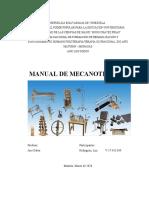 MANUAL DE MECANOTERAPIA