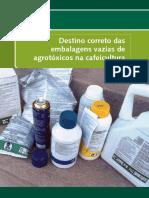 Destino correto das embalagens de agrotóxicos na cafeicultura