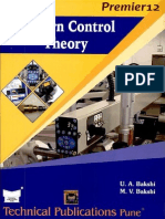Moderncontroltheory-Bakshi
