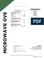 GE Microwave Manual
