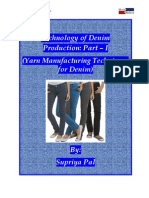 Technology of Denim Production Part – I