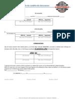 Modelo Cambio Descansos 2 Licencias