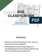 Soil Clasification