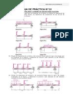 practica n°12-analisis y diseño de vigas a flexion