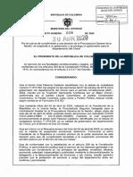 DECRETO 608 DEL 30 DE ABRIL DE 2020