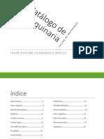 CATÁLOGO DE MAQUINARIA Y HERRAMIENTAS