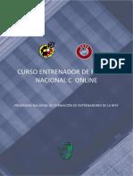 Convocatoria Curso Nacional C RFAF