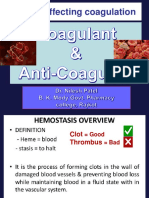 Coagulant & Anticoagulant
