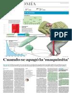Economía - Cuando Se Apagó La 'Maquinita' Diego Macera El Comercio