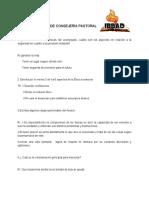 CUESTIONARIO #2 Jairo Aviles. Consejeriabpastoral