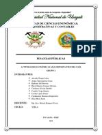 ACTIVIDADES MAS IMPORTANTES DEL PAIS - GRUPO 1