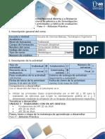 Guía de actividades y rúbrica de evaluación - Paso 4 - solución práctica