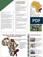 AAPDEP Brochure Color