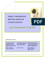 Early Childhood Mental Health Consultation