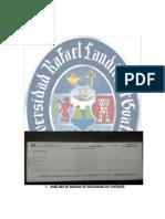 Análisis de Medida de Seguridad de Cheques.