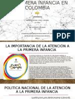 La Primera Infancia en Colombia