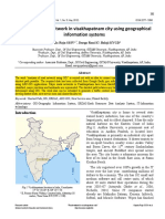 Analysis of road network in visakhapatnam city using geographical
