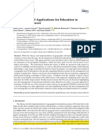 FOSS Tools and Applications for Education in Geospatial Sciences