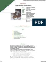 Agroindústria - Farinhas e farináceos, biscoitos caseiros